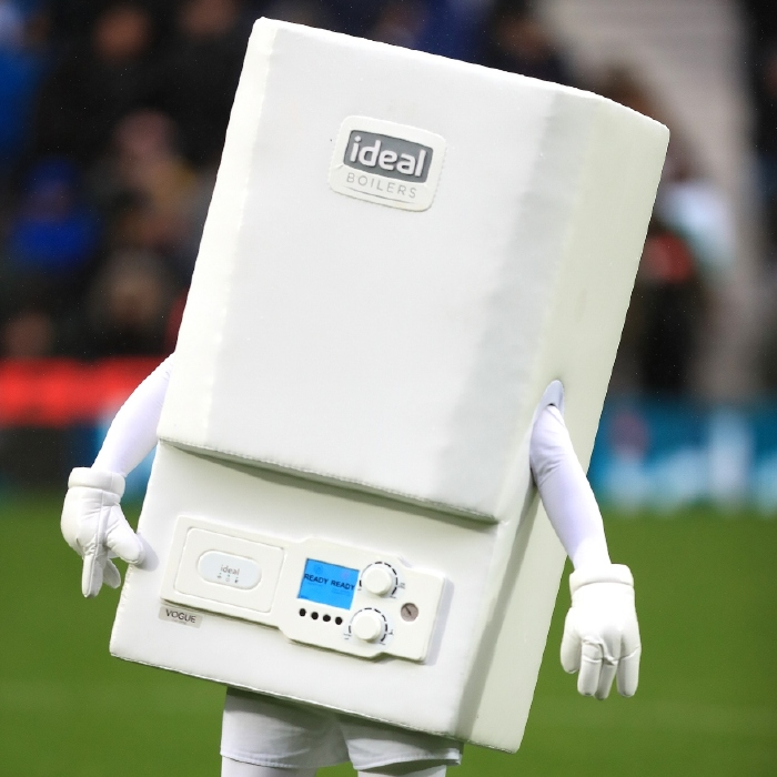 West Brom's Boiler Man has been a spin-off from the kit deal with Ideal Boilers