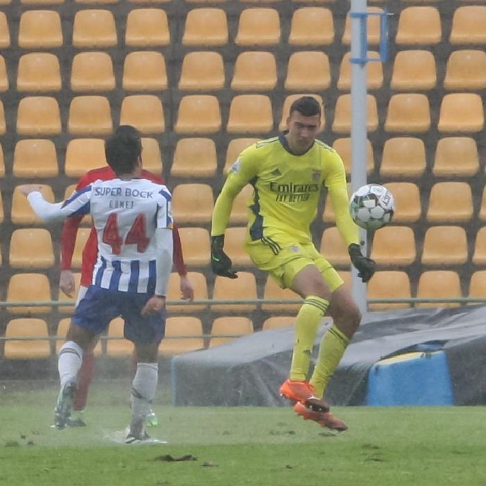 Benfica B goalkeeper Carlos Dos Santos is a transfer target for Premier League Burnley