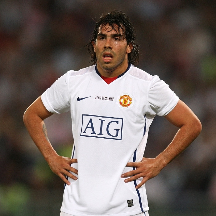 Carlos Tevez, Manchester United, free agent
