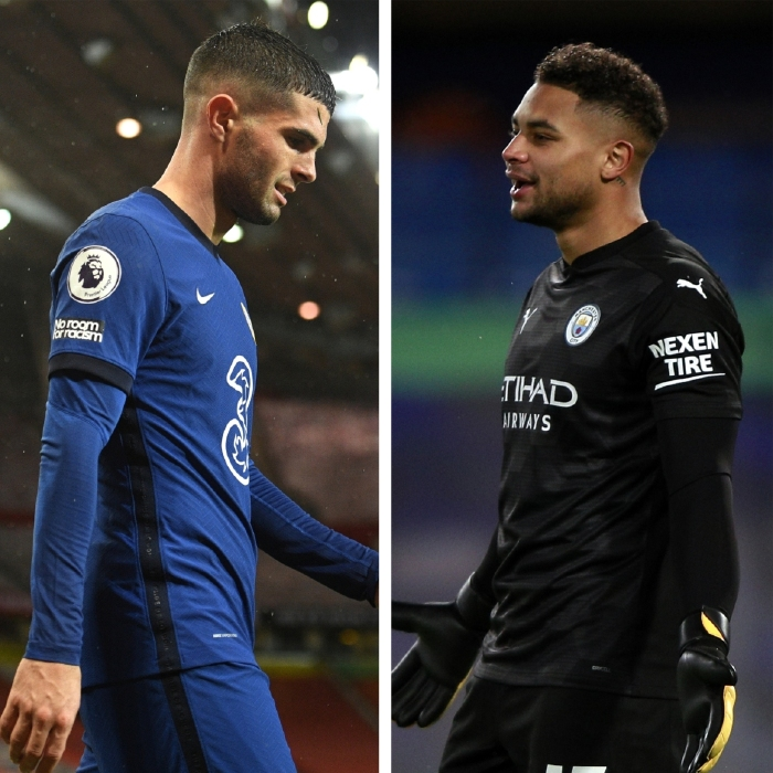 Christian Pulisic and Zack Steffen are finding minutes hard to come by in the Premier League