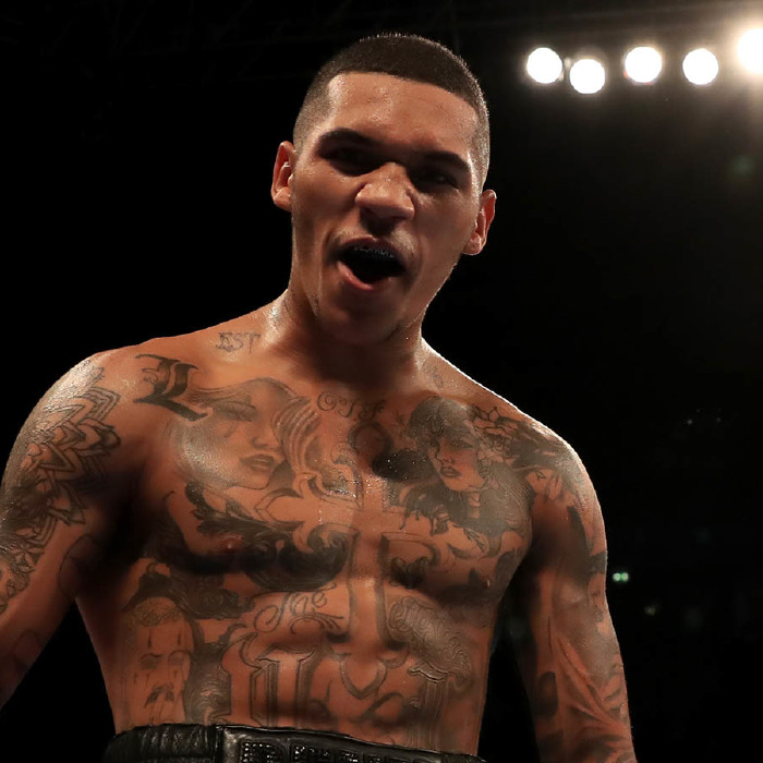 Conor Benn has been diagnosed with COVID