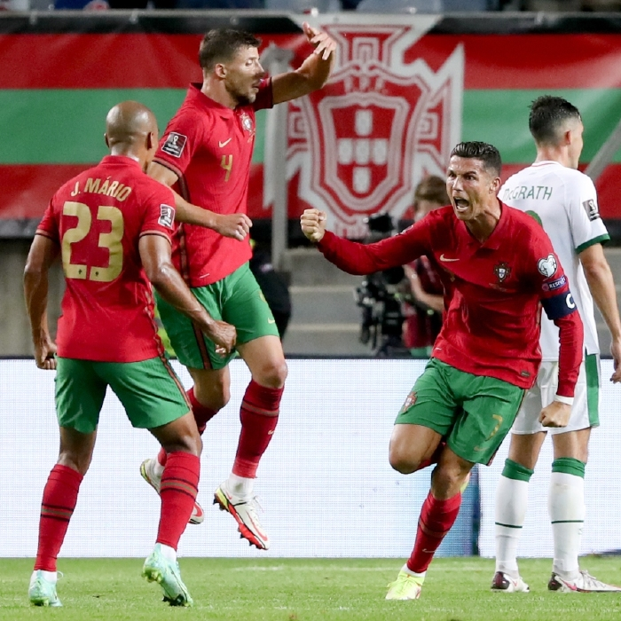 Cristiano Ronaldo was the Portugal here (again) on Wednesday evening