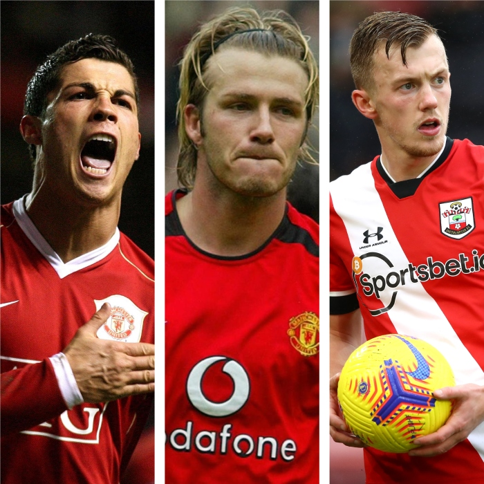 seven best Premier League free-kick takers: Ronaldo, Beckham, Ward-Prowse