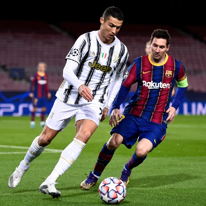 Lionel Messi and Cristiano Ronaldo could be meeting up in the Champions League once more