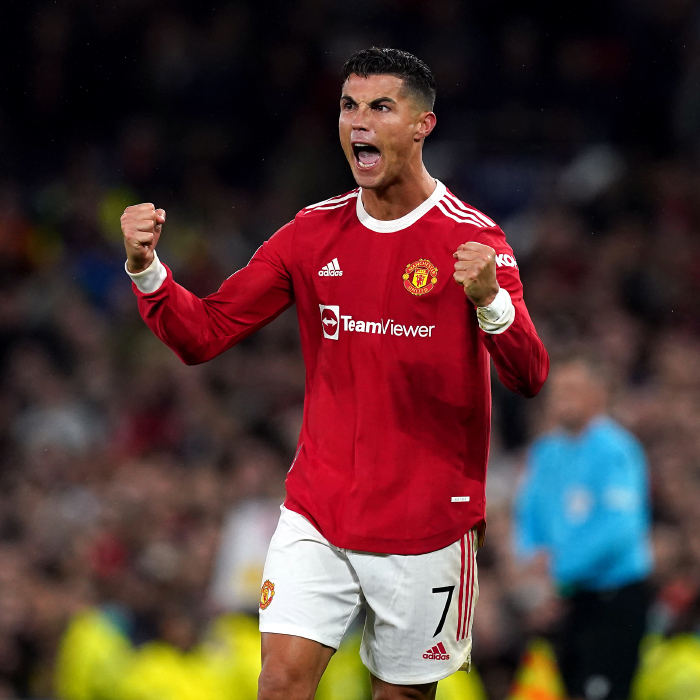 Cristiano Ronaldo, Manchester United celebration