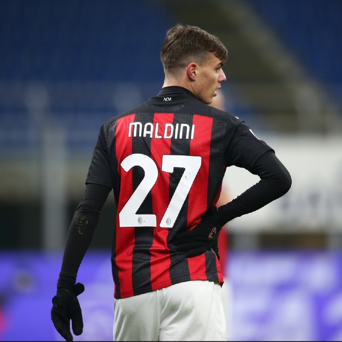 Daniel Maldini has a big task to fill the shoes of his famous father Paolo