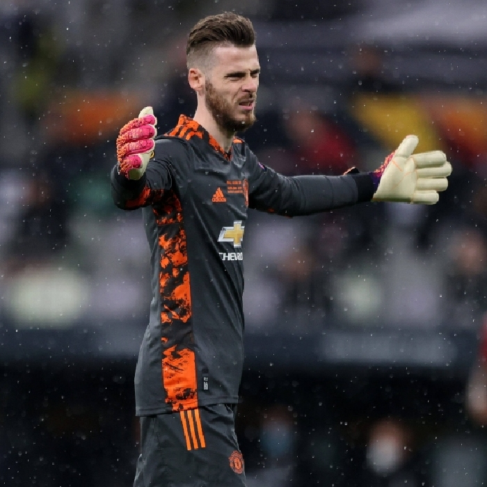 Manchester United keeper David de Gea failed to save any of the 11 penalties he faced in the Europa League final