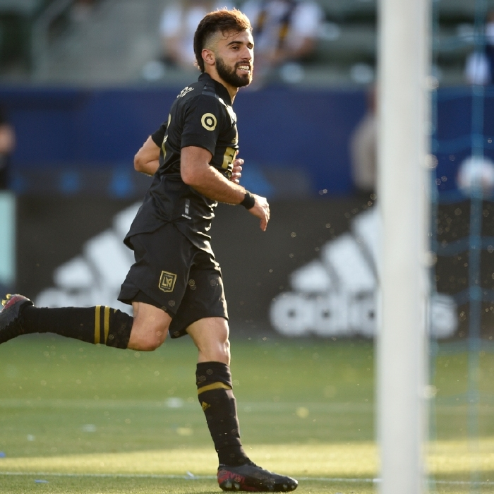 Diego Rossi has three goals but trails Raul Ruidiaz in the MLS goalscoring charts