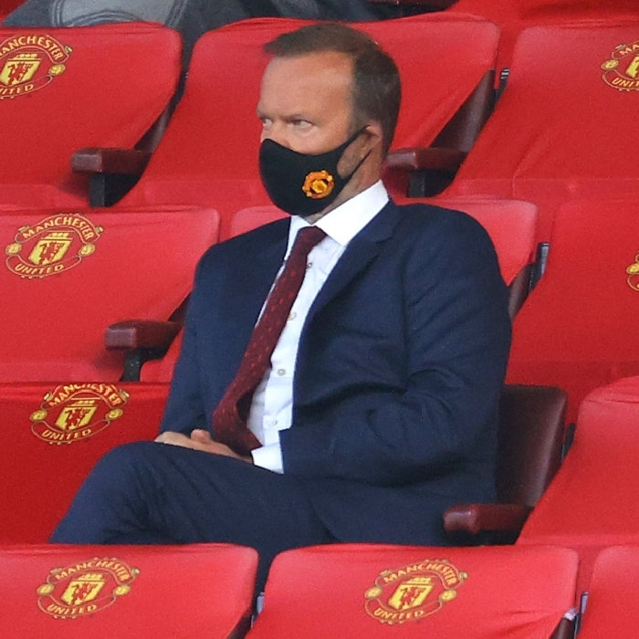 Man Utd chief Ed Woodward held an emergency briefing with disgruntled players