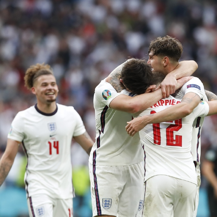 It was celebration time for England on Tuesday night as they beat Germany 2-0