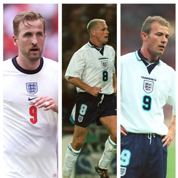 england XI - Euro 96 and Euro 2020