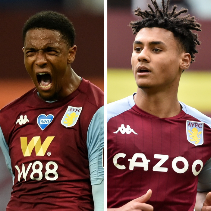 Ezri Konsa and Ollie Watkins are being backed for England call-ups by Aston Villa manager Dean Smith