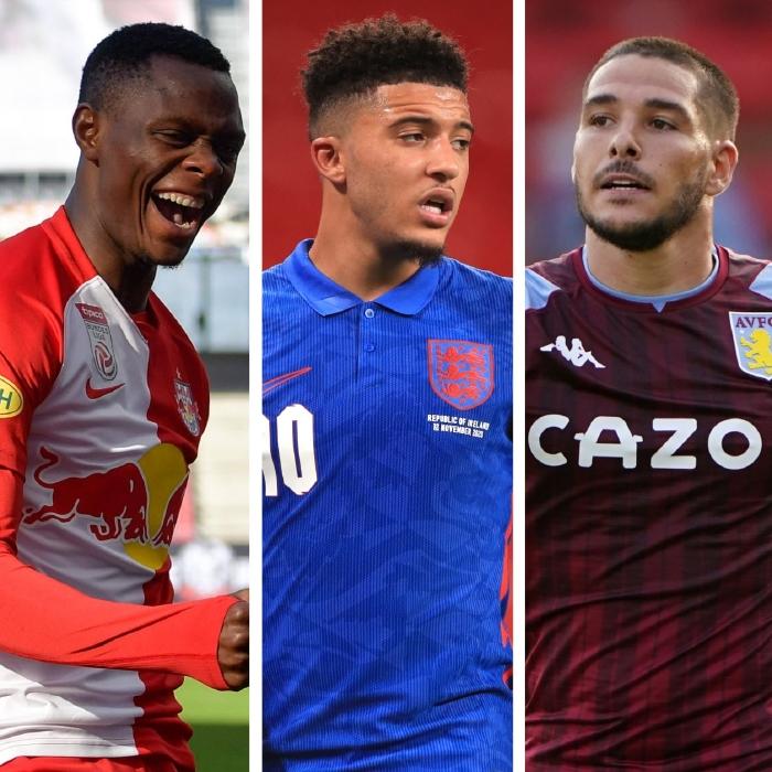 Patson Daka, Jadon Sancho and Emiliano Buendia are new additions to the Premier League this season