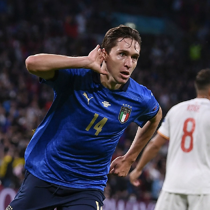 Juventus and Italy striker Frederico Chiesa