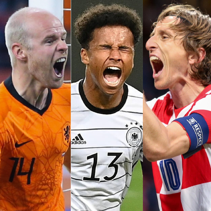 We're expecting over 3.5 goals in the games featuring the Netherlands, Germany and Croatia