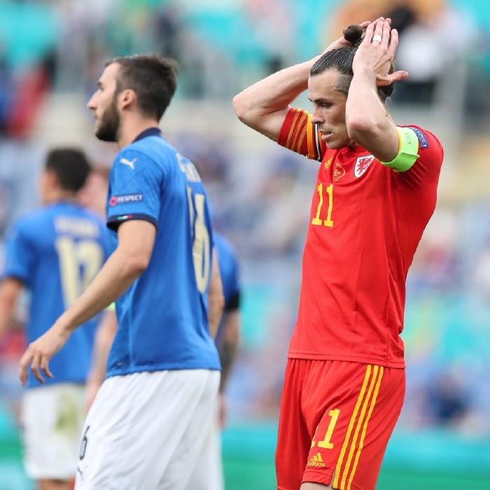 Gareth Bale rues his miss against Italy