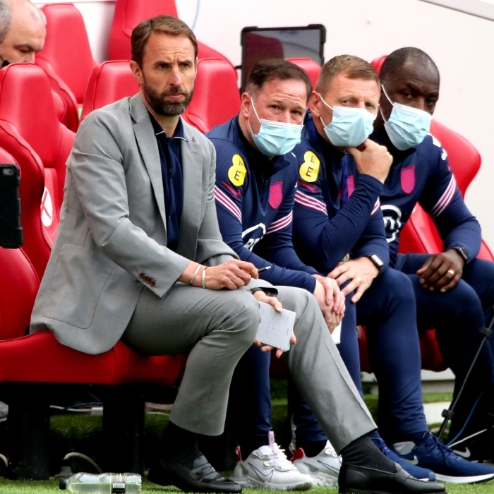 Gareth Southgate drafts his message to the nation