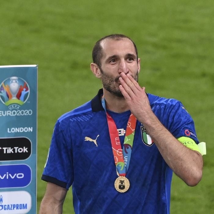 Giorgio Chiellini iconic moments for Juventus and Italy