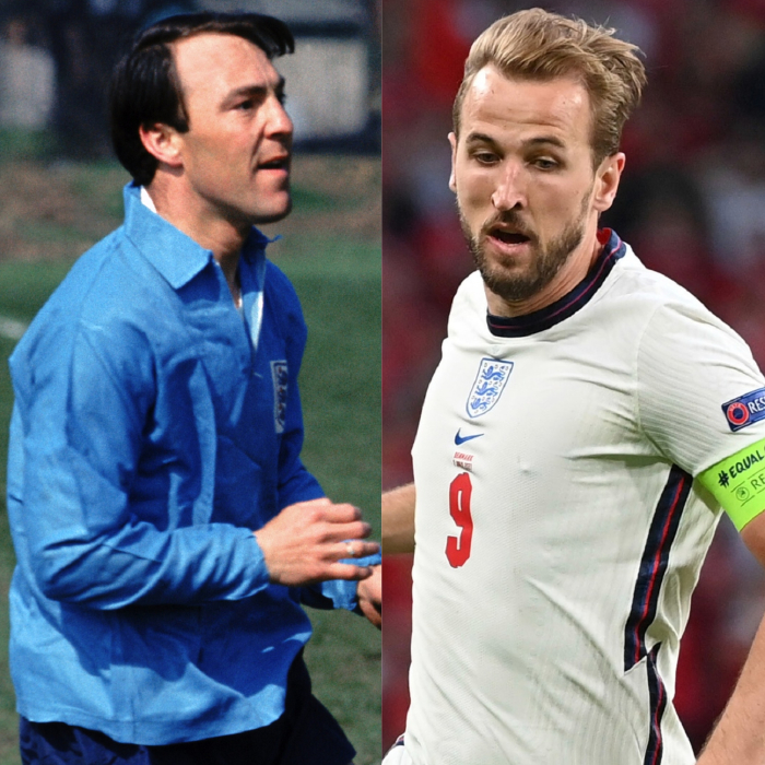 Harry Kane is closing in on Jimmy Greaves' tally of 44 England goals