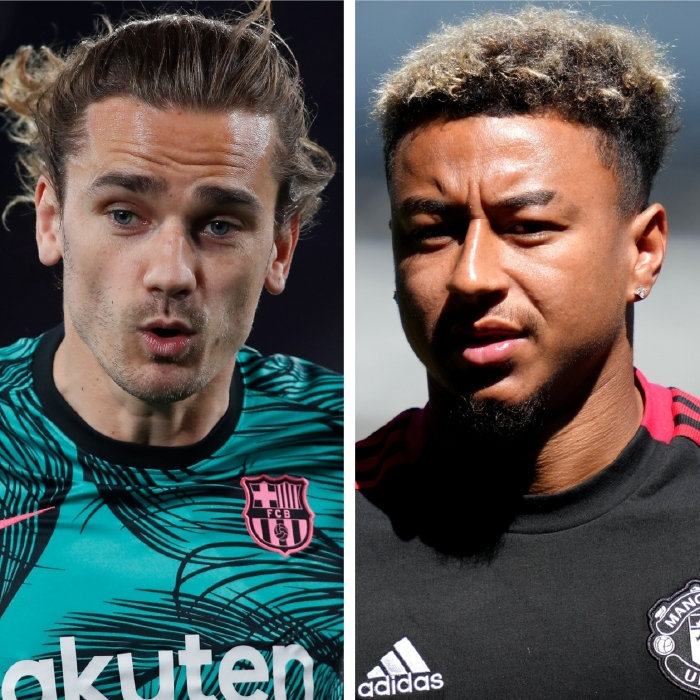 Antoine Griezmann could be linking up with Jesse Lingard at Atletico Madrid this season