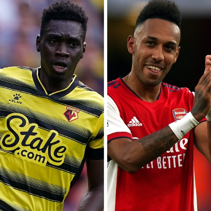 Pierre Emerick Aubameyang and Ismaila Sarr are worth backing in the Pair of Aces market