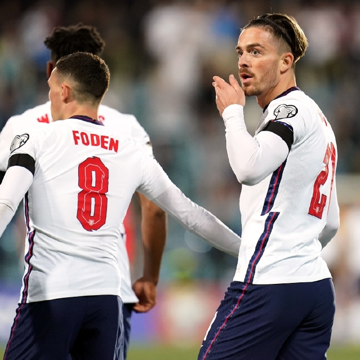 Jack Grealish opened his account for England in their 5-0 win over Andorra