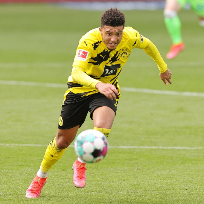 Jadon Sancho could be on his way to Manchester United for a cut-price £86.75million
