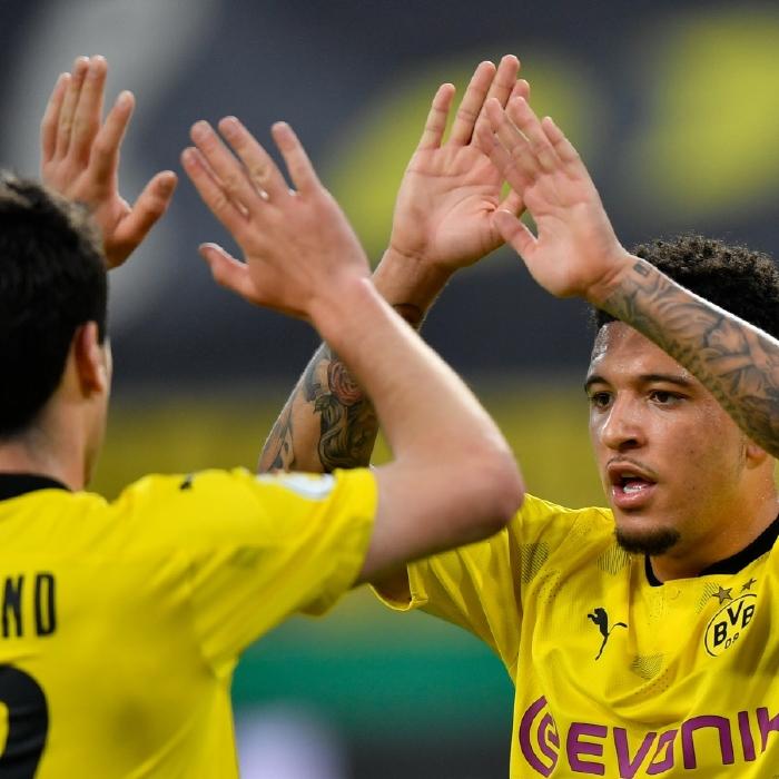 Jadon Sancho has seen his value soar since joining Borussia Dortmund