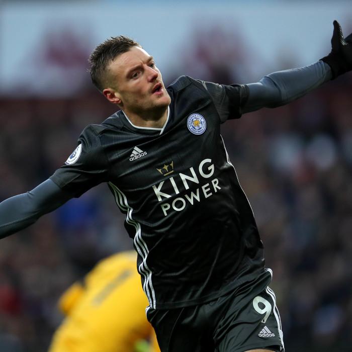 Leicester City ace Jamie Vardy