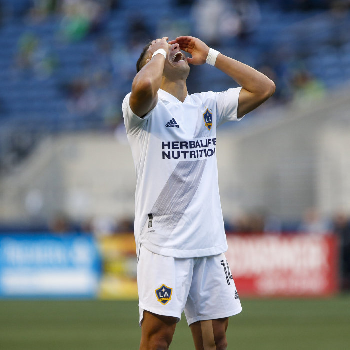 Chicharito failed to equal an MLS scoring record last weekend