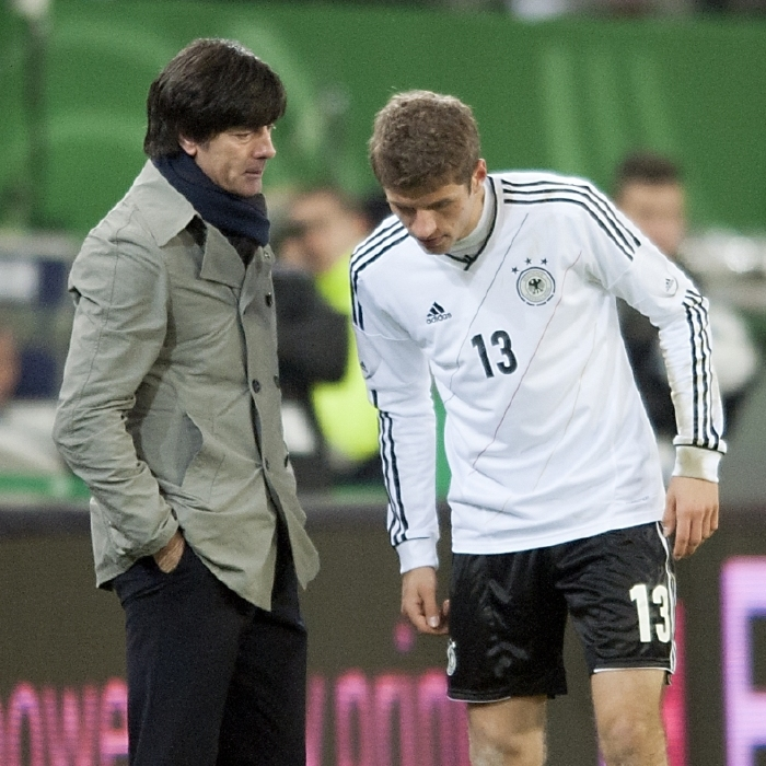 Joachim Low looks set to bring Thomas Muller back into the Germany fold