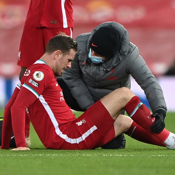 Jordan Henderson is still not back in training for Liverpool
