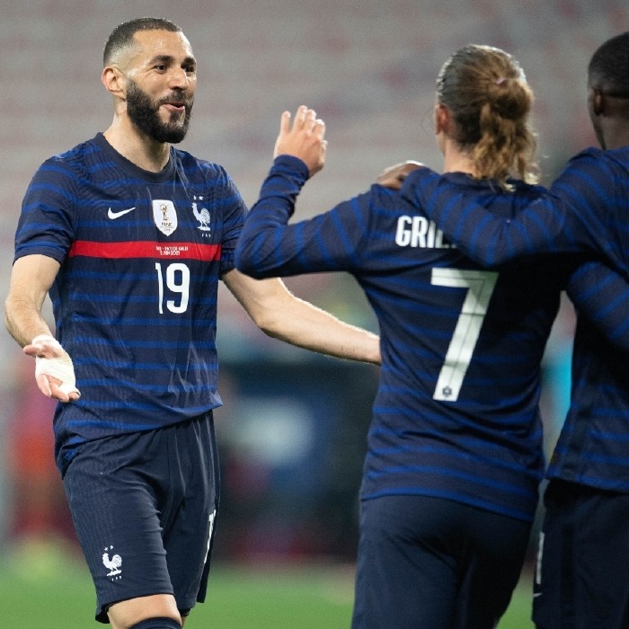 France should have an easy evening of it against Bulgaria
