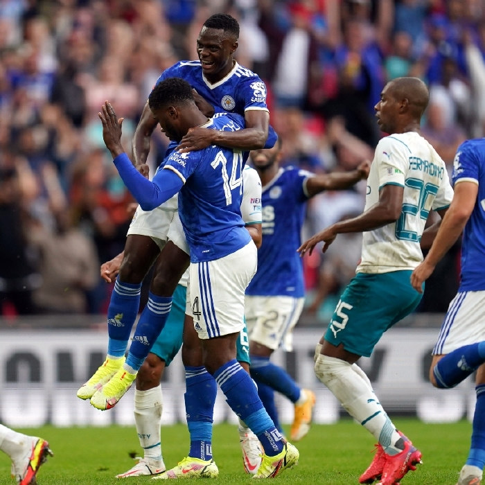 Leicester won the 2021/22 Community Shield thanks to a Kelechi Iheanacho penalty