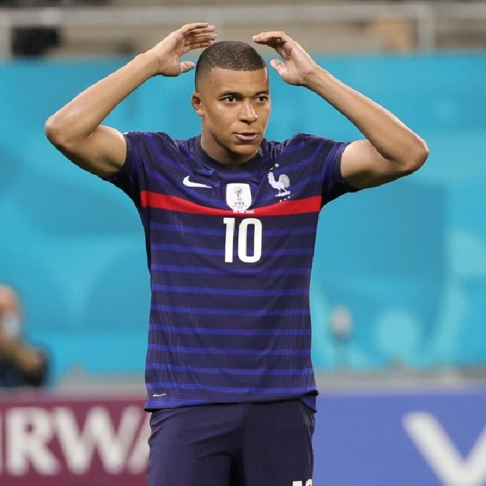 Kylian Mbappe missed the crucial penalty as France bowed out of Euro 2020