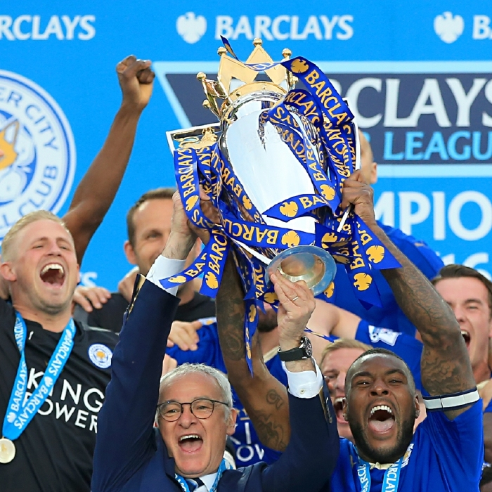 Leicester City lift the title despite the 'Big Six' in 2015/16