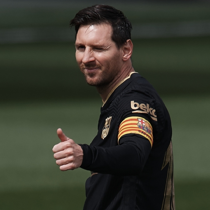 Lionel Messi is being heavily courted by Paris Saint-Germain