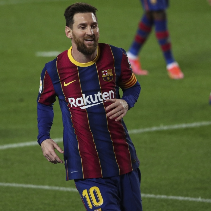Lionel Messi broke one record and equalled another in Barcelona's La Liga clash with Huesca