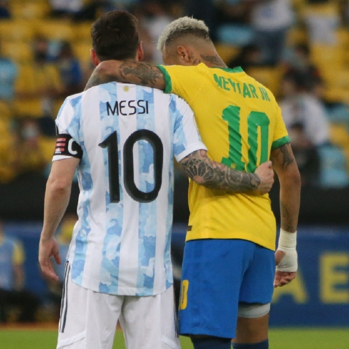 Neymar is hoping to link back up with Lionel Messi at Paris Saint-Germain