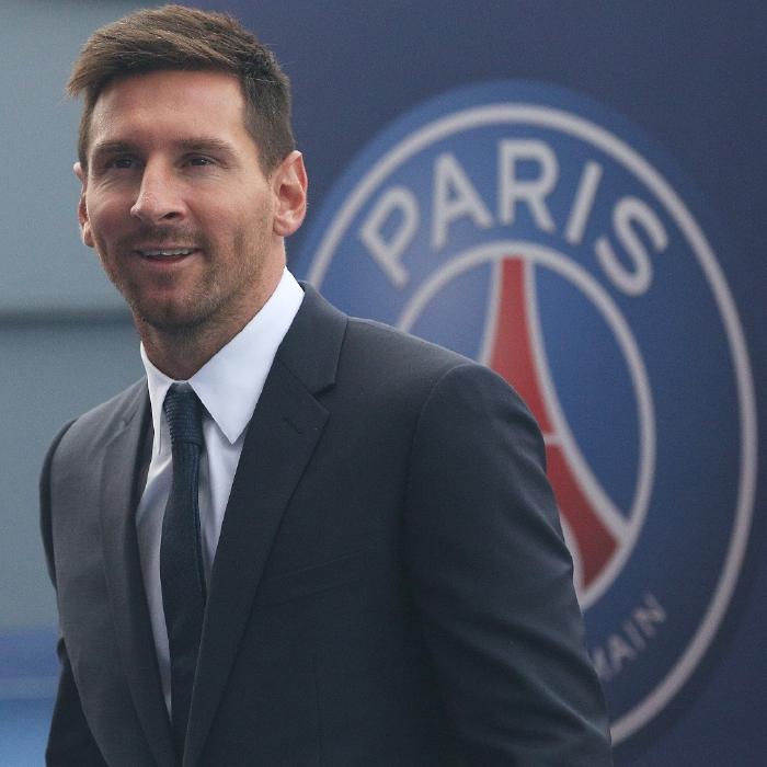 Lionel Messi is now a Paris Saint-Germain player