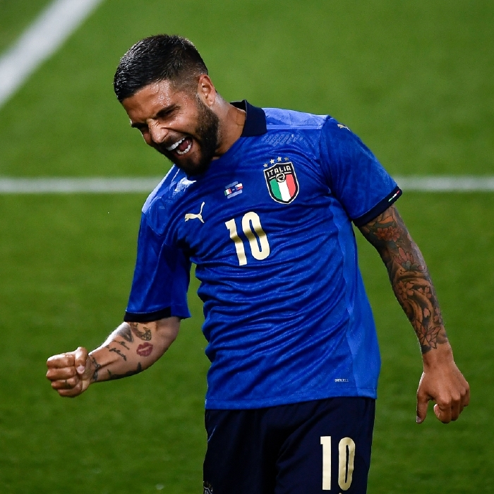 Italy's Lorenzo Insigne could be celebrating on July 11