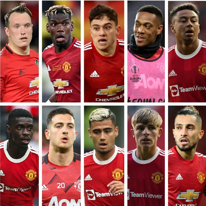 Manchester United are reportedly ready to listen to offers for ten of their players