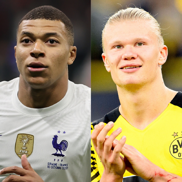 Kylian Mbappe and Erling Haaland have been linked with moves to Newcastle