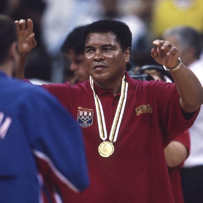 Muhammad Ali opened the Atlanta Games 25 years ago