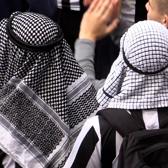 Newcastle fans have warmly welcomed the Saudi-led takeover