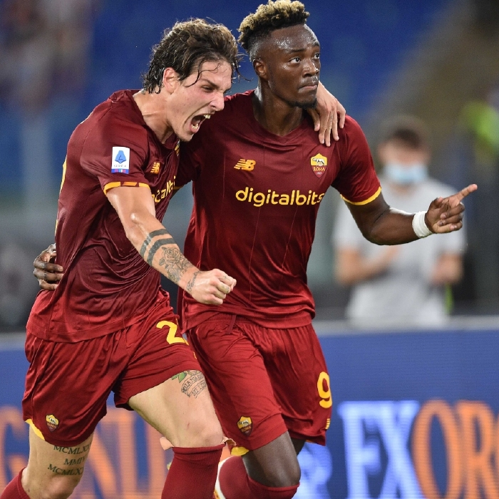 Tammy Abraham was on target again for Roma, scoring the only goal of the game against Udinese