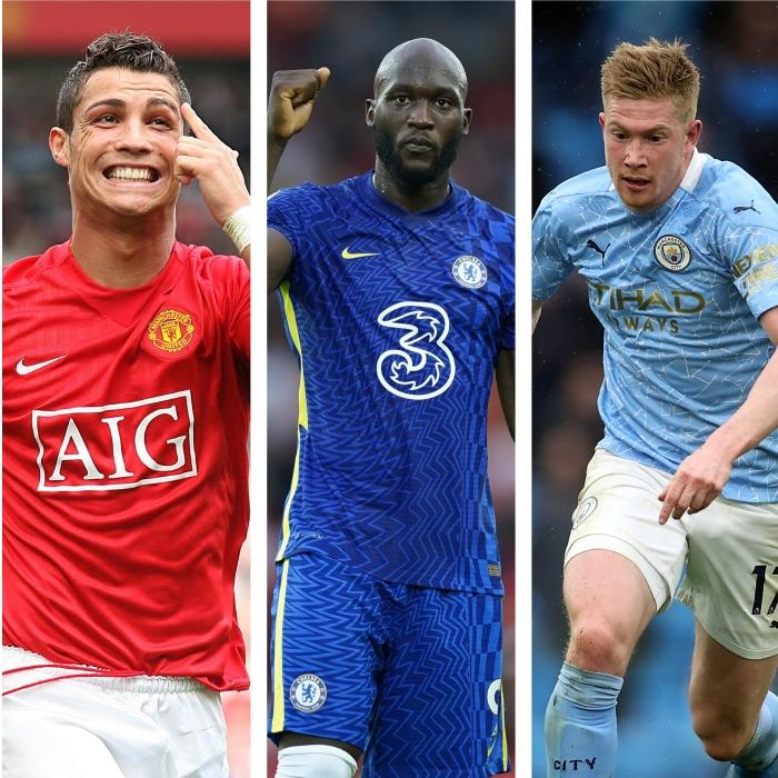 PFA POTY odds, Ronaldo, Lukaku, De Bruyne