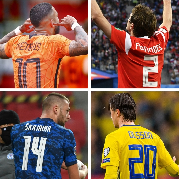 Memphis Depay, Mario Fernandes, Kristoffer Olsson and Milan Skriniar all feature in our player specials
