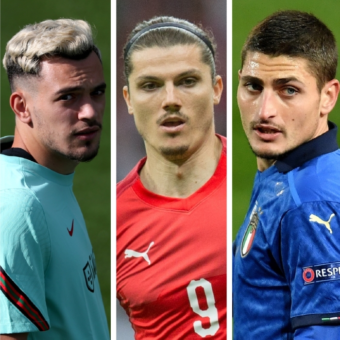 Pedro Goncalves, Marcel Sabitzer and Marco Verratti can strengthen their claims for a move to the Premier League at Euro 2020