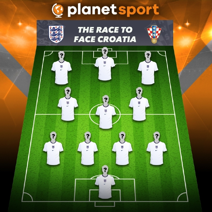 Who will line up for England to face Croatia on June 13?